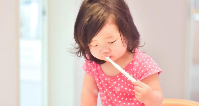乳歯の生え方と歯磨きの重要性