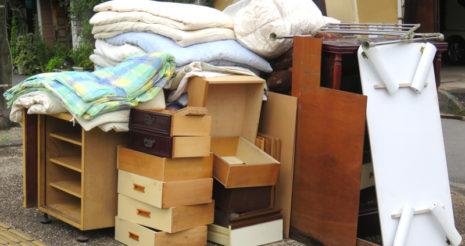 新築の引っ越しによる粗大ゴミの処分について