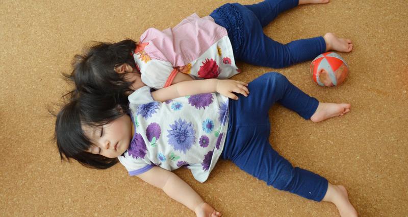 1歳児・2歳児の子どもの昼寝時間を見直して生活リズムを正そう!