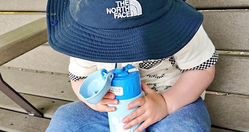 子どもとのお出かけはしっかりと水分補給をして熱中症対策を!